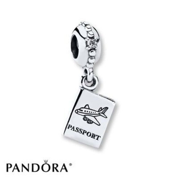 Pandora Passport Dangle Charm